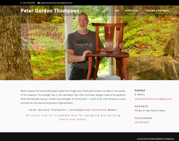 www.peterthompsonfurniture.com